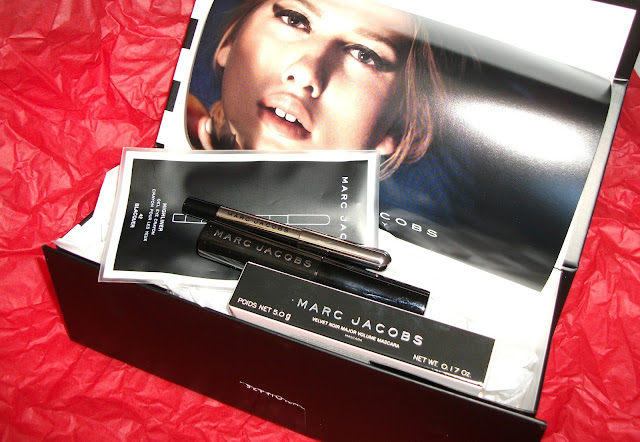 Shopping online experiences: Sephora. Marc Jacobs travel sizes