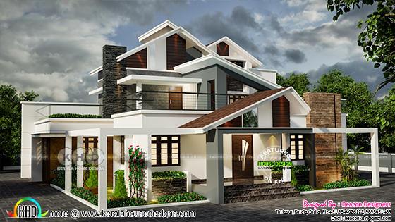 4 bedroom ultra modern house 2500 sq-ft