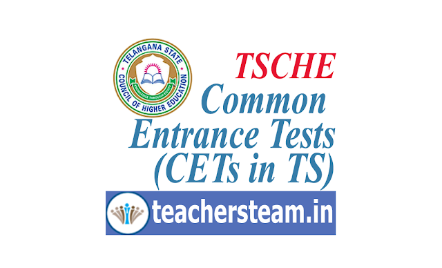 Telangana CETs Exam Schedule 2019@tsche.ac.in
