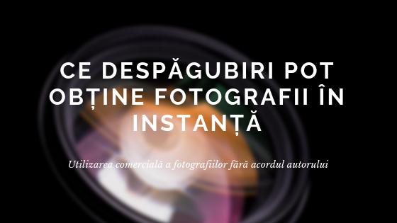 Utilizarea comercială fără acordul autorului. Ce despăgubiri pot obține fotografii în instanță?