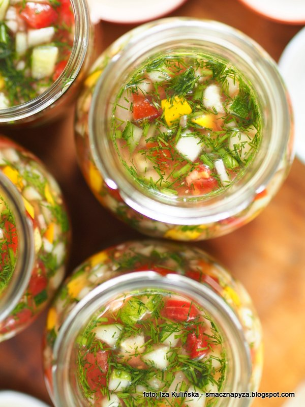 Kiszona salsa wielowarzywna