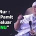 Gus Nur : Saya putuskan ini sekarang, saya keluar dari ormas yang bernama NU