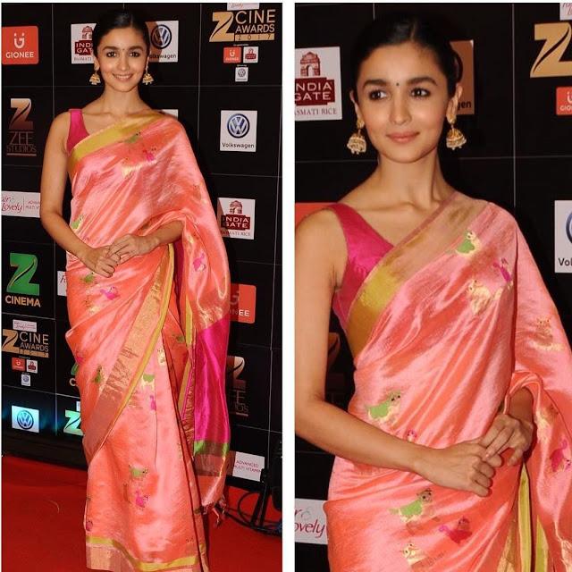 055e42947f40e7  40 Simple blouse neck designs for silk sarees - Sleeveless beauty