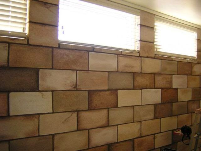 Interior paint colors for basements for How to build a concrete block wall foundation