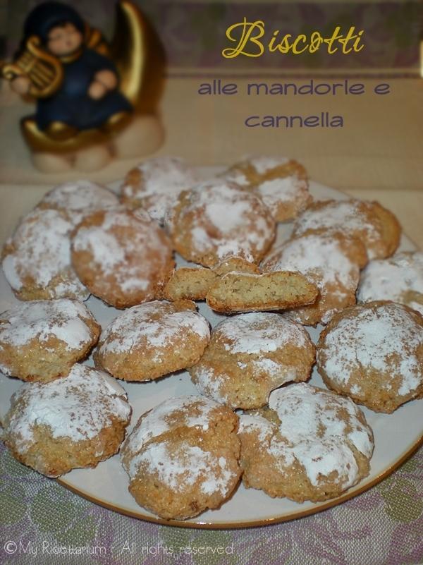Biscotti con mandorle e cannella