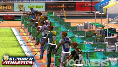 Summer Athletics (PS2) 2008