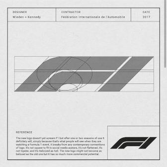 Logo da Fórmula 1 (F1)