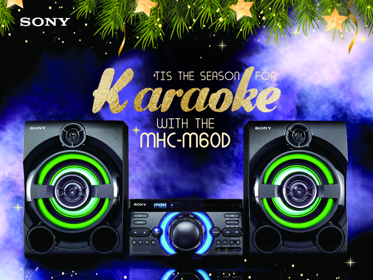 Merry Holiday Parties with the new Sony M series |Geekschicksten