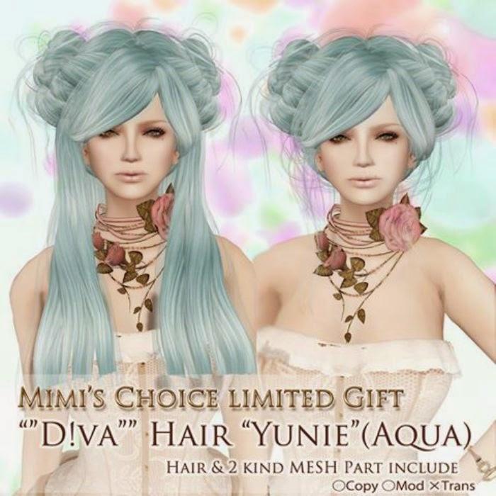THIRD LIFE [ Frees, Gifts & Hunts ]: DIVA - YUNIE *AQUA