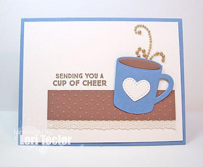 Sending You a Cup of Cheer card-designed by Lori Tecler/Inking Aloud-stamps and dies from My Favorite Things