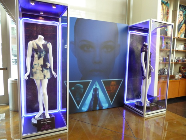Neon Demon movie costume exhibit
