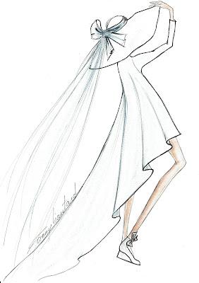 une robe de mariage, jeune et moderne