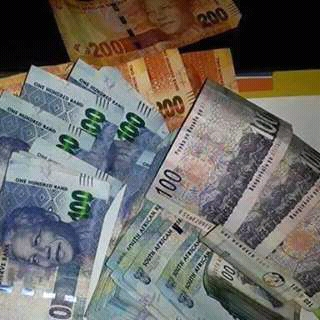 zar money and front