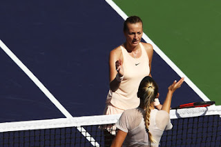 Kvitova crashes out of Indian Wells