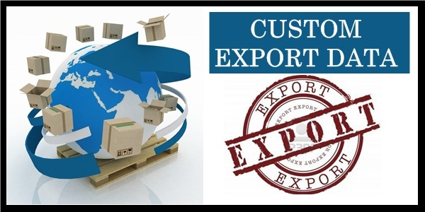 Customs Export Data from trusted service providers