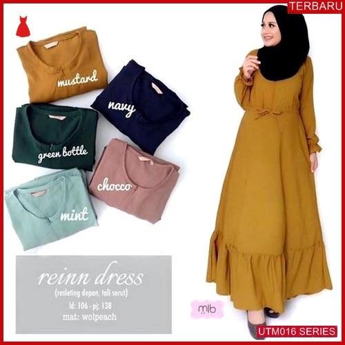 UTM016R52 Baju Reinn Muslim Dress UTM016R52 010 | Terbaru BMGShop