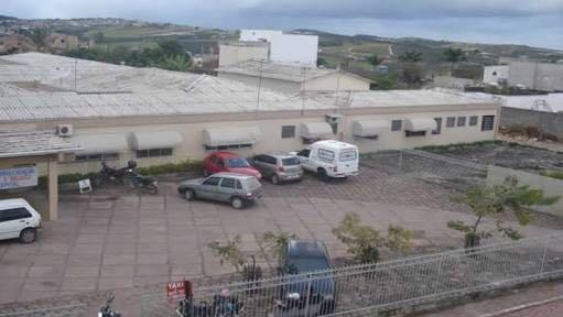 Hospital Susy Zanfretta em Barra da Estiva (Foto: Reprodução)