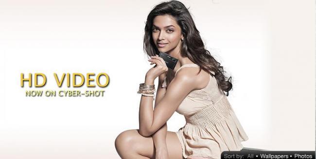 Deepika Padukone - Sony Cybershot Camera Ad Stills ~ Movie ...