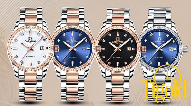 đồng hồ đeo tay nữ carnival