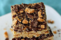 Butterfinger Rice Kripsie Treats