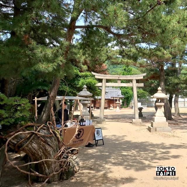 【女木八幡神社】小島上的古老神社 坐擁美麗海景沙灘