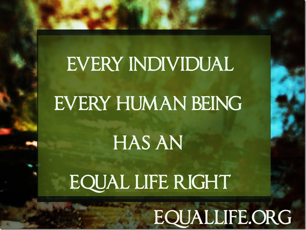 Day 221: Are Humans Equal? - Equality and Human Rights ...