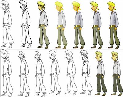 Evolución Guybrush Threepwood - El Amuleto de Monkey Island