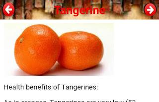 HEALTH BENEFITS OF TANGERINES