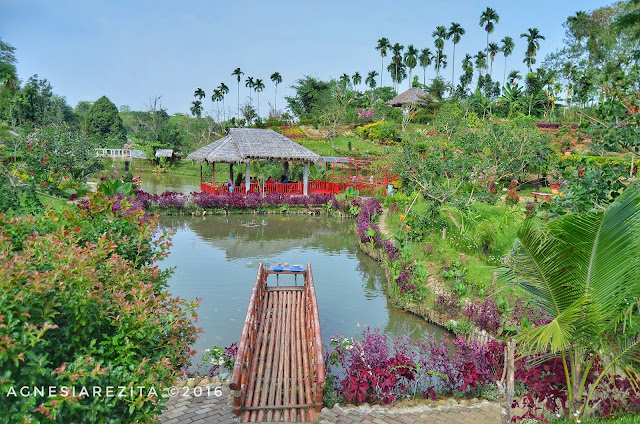 Memancing Ikan di Taman The Le Hu Garden
