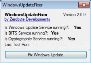 WindowsUpdateFixer 2.1.1 [Corregir problemas con las actualizaciones de Windows Update]