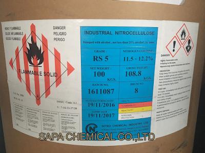 Các loại nhựa NITROCELLULOSE RS