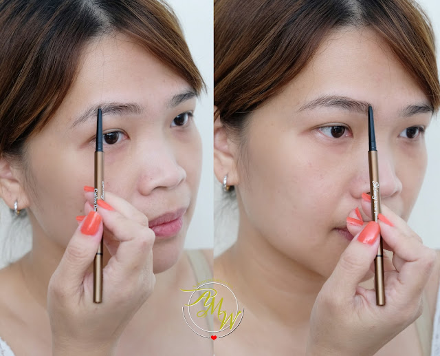 a photo of Cathy Doll Skinny Eyebrow Pencil Review