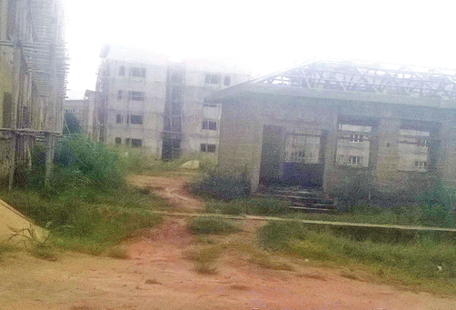 the fashola housing estate abandoned