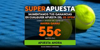 888sport supercuota 200% usopen + 150 euros bono bienvenida 4-10 septiembre