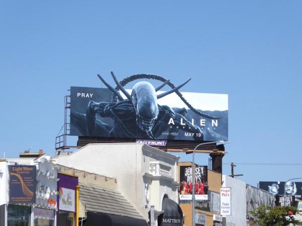 Alien Covenant extension cutout billboard