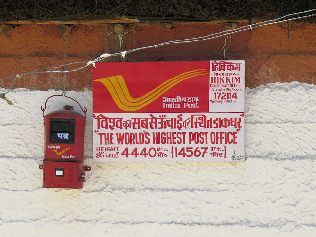 World's Highest Post Office at Hikkim
