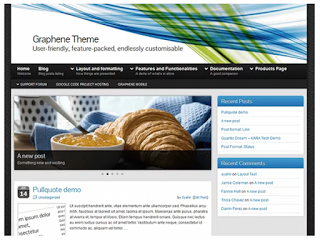 Graphene Wordpress Theme