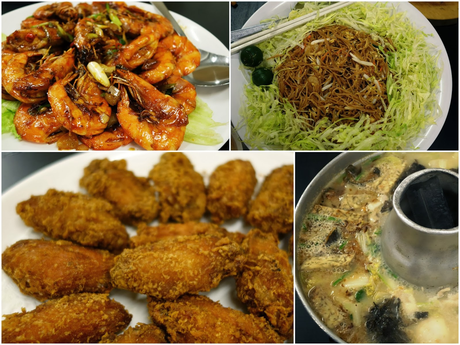 PinkyPiggu: Whampoa Food Street (Keng) Fish Head Steamboat 黄埔庆