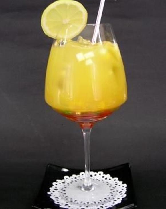 Coctel De Naranja Y Huevo