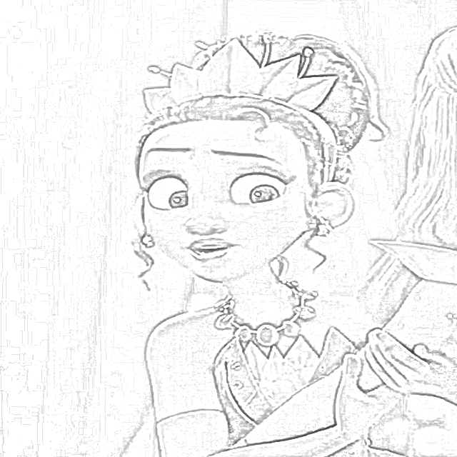 Coloring Pages: Princesses From