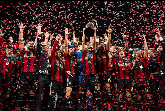 ATL UTD Kings of the South MLS Cup Winners