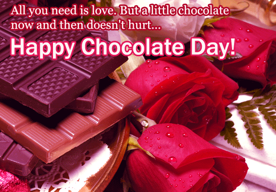 Happy Chocolate Day SMS Message