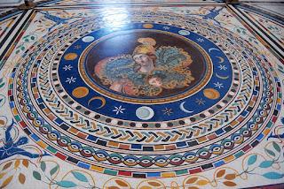 magnifique mosaïque du IIIème siècle représentant Athéna