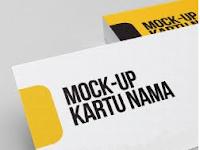 Mockup Kartu Nama Mudah dan Gratis