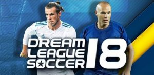 Free Download Dream League Soccer 2018 MOD APK Unlimited Coins
