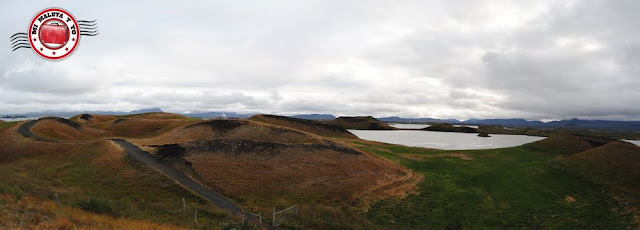 Pseudocráteres de Skútustaðagígar, Islandia