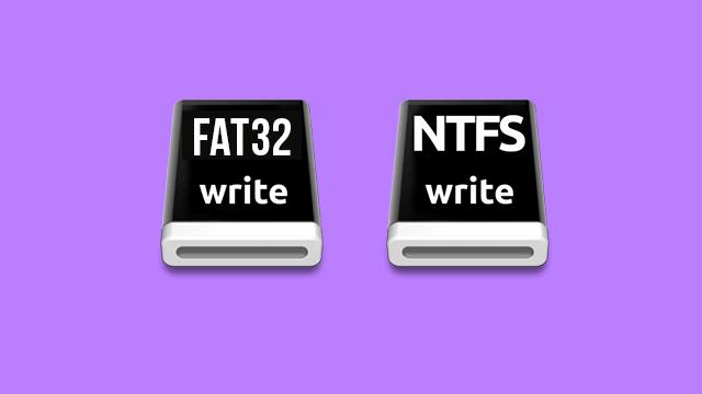 NTFS FAT32