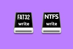 Cara Konversi NTFS ke FAT32 atau Sebaliknya Tanpa Format atau Kehilangan Data