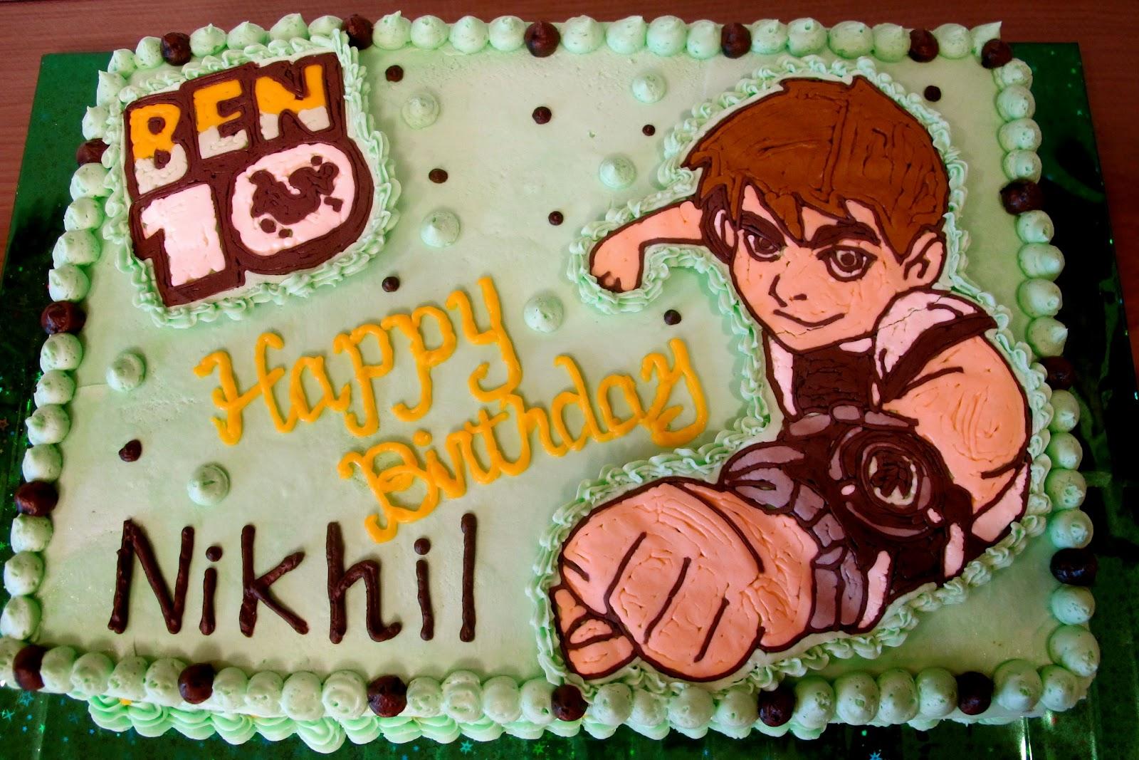 Tortelicious Ben 10 Amp Miffy Birthday Cakes
