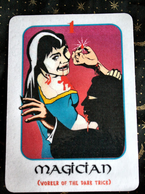 Card of the Week: The Gothic Tarot: The Magician
